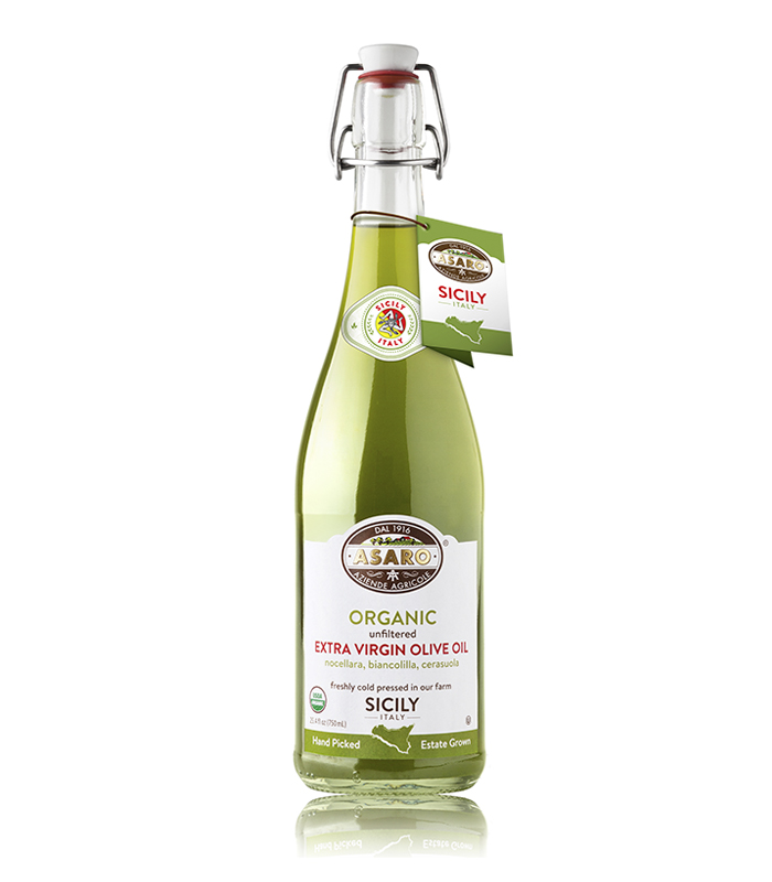 Organic Extra Virgin Olive oil - Unf - 0,75L Asaro