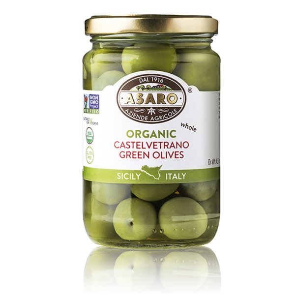 Castelvetrano Green Olives Whole