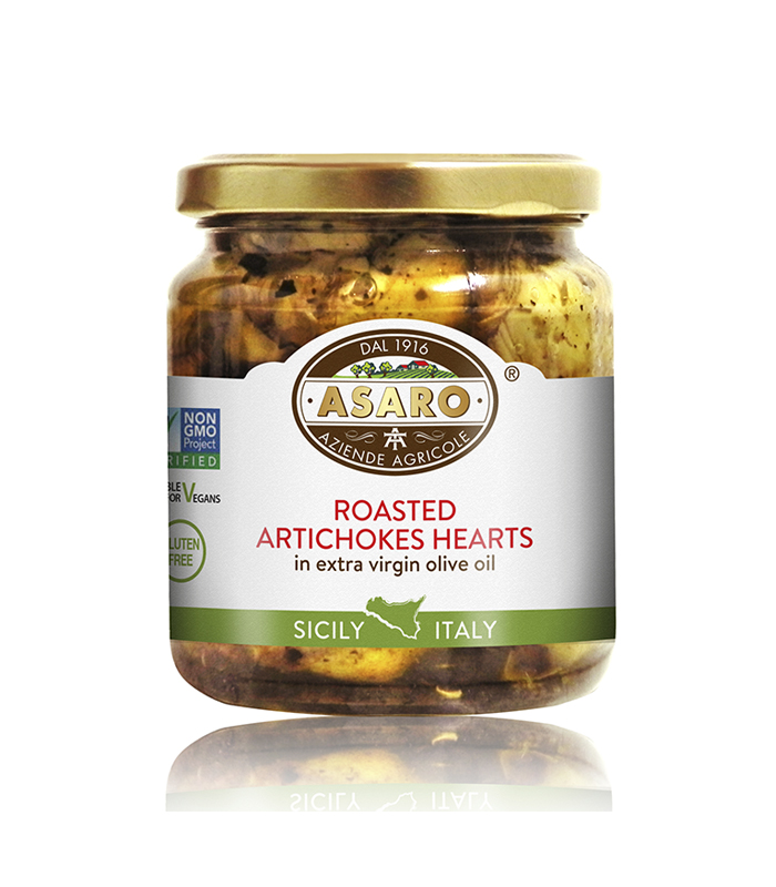 Roasted Artichoke Hearts Asaro Farms
