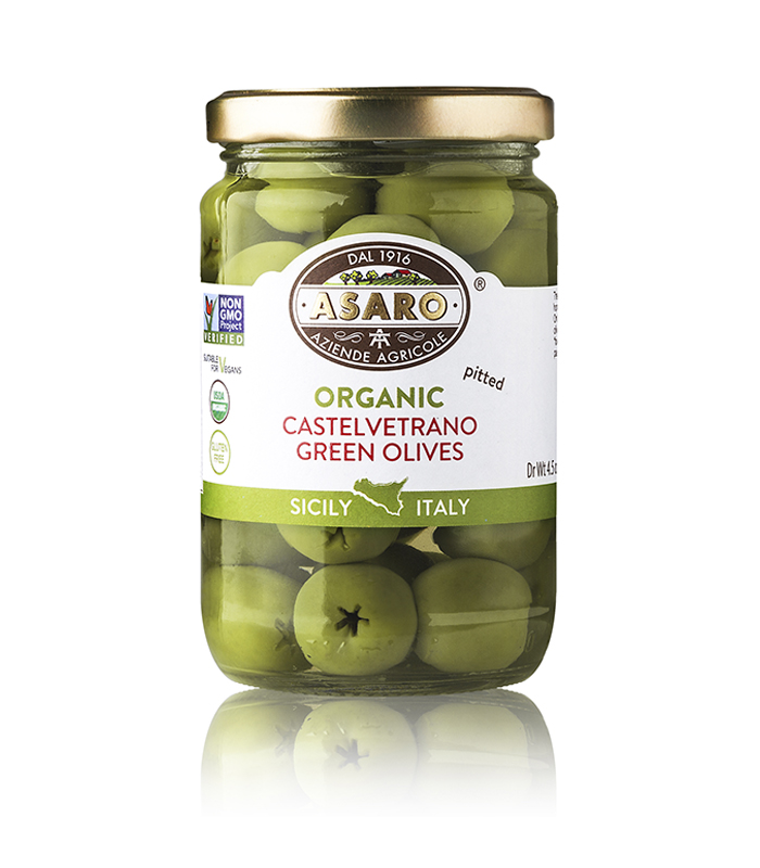 Castelvetrano Green Olives Pitted